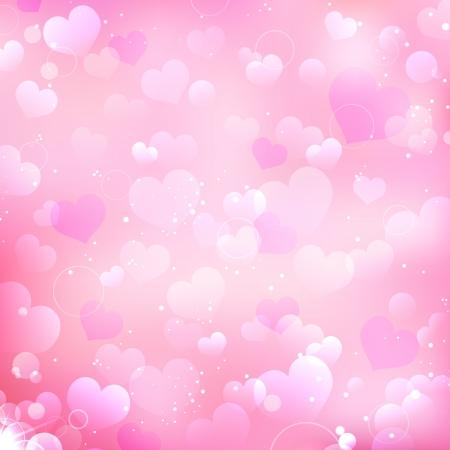 truelove: illustrazione di sfondo amore con il cuore molti