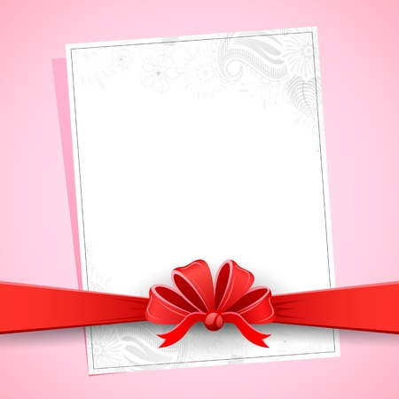 occassion: illustration of floral card for all occassion