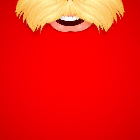 illustration of Santa Wishing Merry Christmas Vector