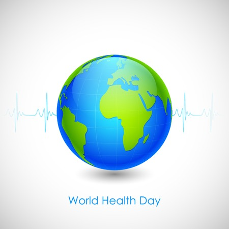 illustration of concept for World Health Day Vector