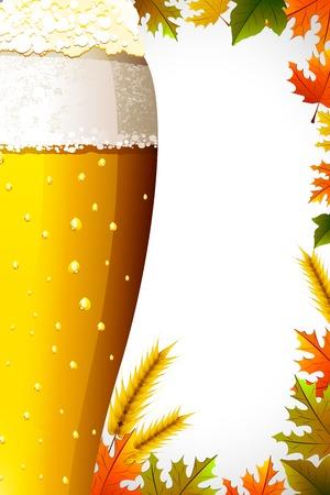 illustration of Oktoberfest celebration background Vector