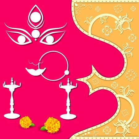 Happy Navratri Vector