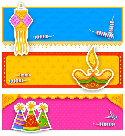 deepawali: illustration of Diwali banner for promotion and advertisment Illustration