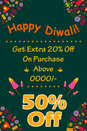 dipawali: Happy Diwali discount sale promotion offer banner in vector