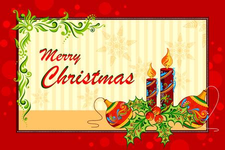 tarjeta de invitacion: ilustraci�n de fondo floral vacaciones de Navidad