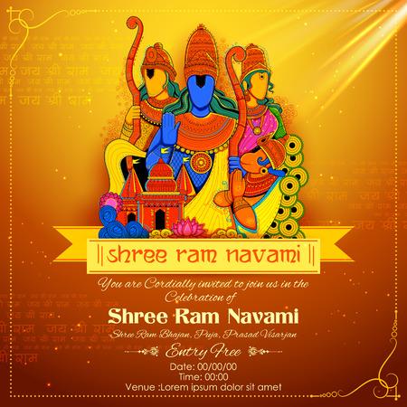 hanuman: Lord Ram, Sita, Laxmana, Hanuman and Ravana in Ram Navami