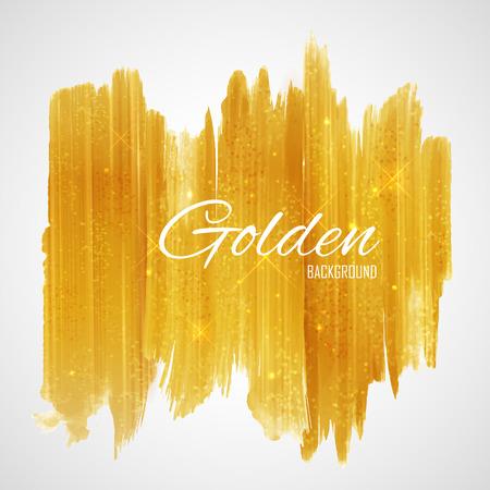 Shiny Glamorous Glittering Gold texture background Stock Illustratie