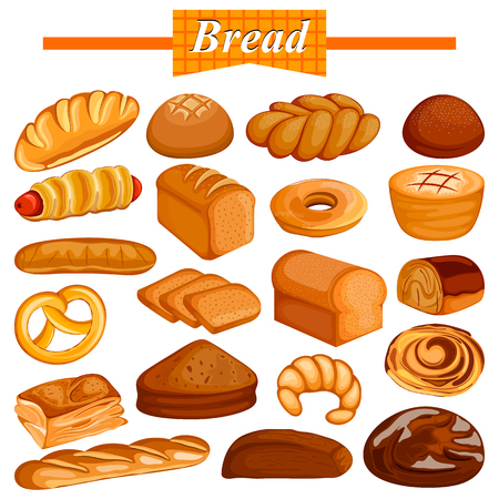 Set van lekker assortiment Bread and Bakery Food item