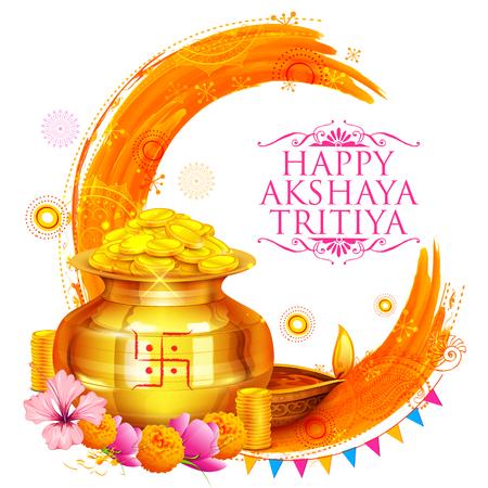 Akshay Tritiya Feier Standard-Bild - 76543537