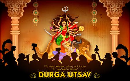 Godin Durga in Subho Bijoya Happy Dussehra