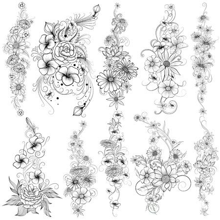 Blumen Tattoo Lizenzfreie Bilder Und Fotos Kaufen 123rf