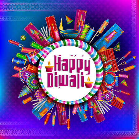 Happy Diwali light festival of India