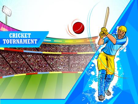 Player batsman in Cricket Championship Tournament