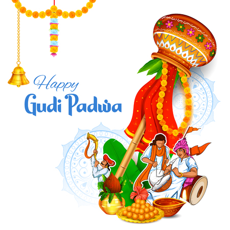 Gudi Padwa Lunar New Year celebration in Maharastra India