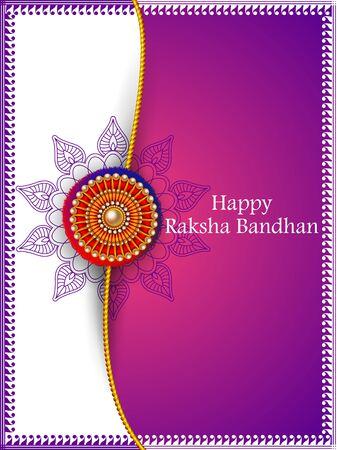Illustration of Rakhi  for Indian festival Raksha bandhan celebration
