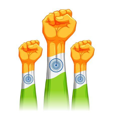 Förderung und Unterstützung der Vocal for Local-Kampagne von Indien, um es unabhängig und unabhängig zu machen Vektorgrafik