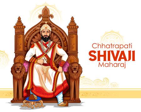 Chhatrapati Shivaji Maharaj, the great warrior of Maratha from Maharashtra India