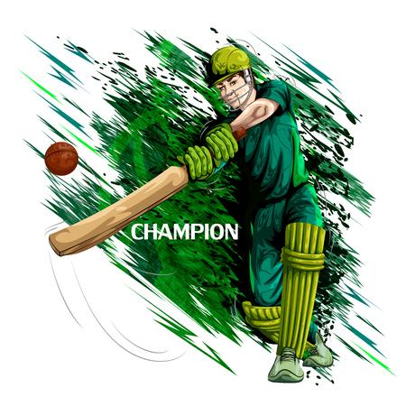 Concetto, sportivo, gioco, cricket Archivio Fotografico - 79652022