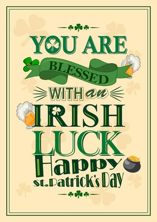 Saint Patrick Day wishings and greetings