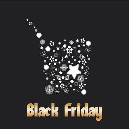 Black Friday Background Vector