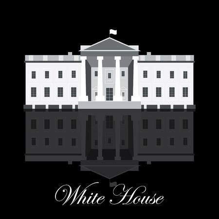 white house: White House illustration Illustration