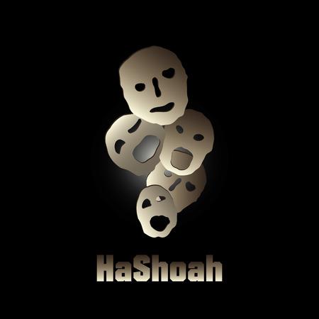 holocaust: HaShoah Background illustration