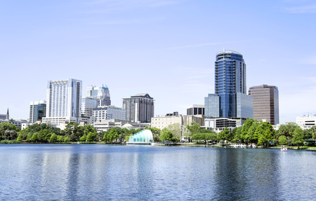 Park Eola , Orlando Florida photo