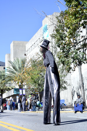 people street: tradition, America, Florida, Luther, Martin, Orlando, character, coexistence, rights, women empowerment, minority, peace, parade, people, street, usa, african american, girl, woman, Street, traditional, beautiful, stilts,
