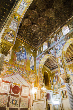 palatine: Palatine Chapel in Palermo, Italy Editorial
