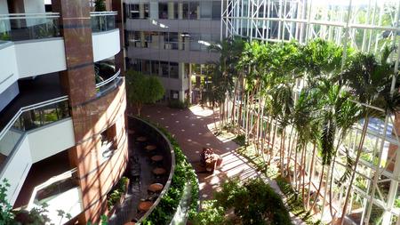 moderm: Interior of Colonnades office Building - October 27, 2014 - Orlando Florida Editorial