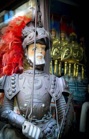 sicilian: Sicilian traditional puppet.