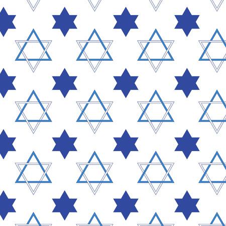etoile juive: Juive motif en forme d'�toile sur fond vecteur