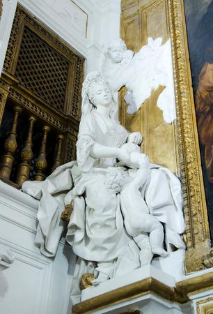 oratoria: SS Rosario Oratorio de Santo Domingo en Palermo Sicilia Italia Editorial