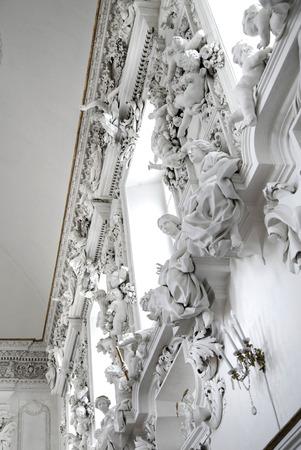 palermo: View in Saint Cita Oratory in Palermo Italy Editorial
