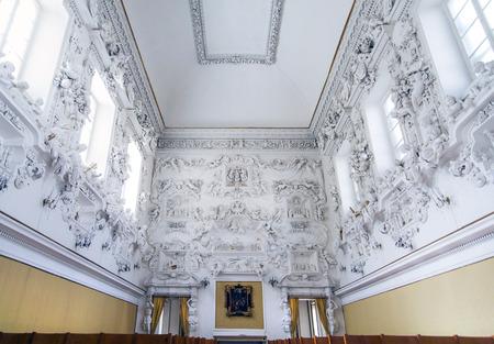 oratoria: Interior de Santa Cita Oratorio Palermo en Sicilia, Italia
