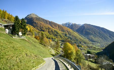 rabbi: Rabbi Valley in Trentino Alto Adige, Italy.