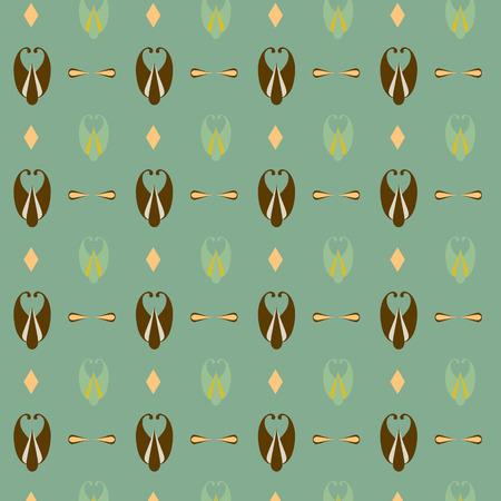 wallpapaer: Decorative pattern, vector illustration. Illustration
