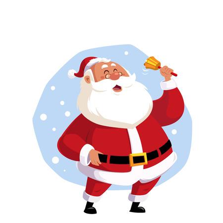 Vector illustration of Santa Claus to celebrate Christmas Ilustração