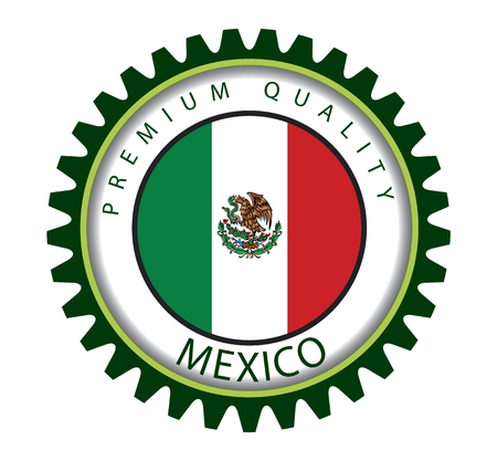 drapeau mexicain: Mexico Seal, Mexican Flag (Vector Art)