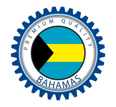 bahamian: Bahamas Seal, Bahamian Flag (Vector Art)