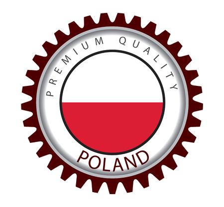 bandera de polonia: Poland Seal, Polish Flag (Vector Art) Vectores