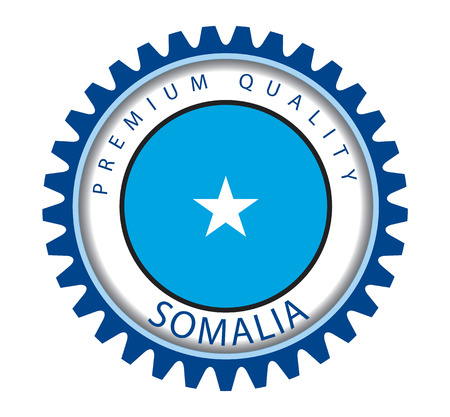 somalia: Somalia Seal, Somali Flag (Vector Art)
