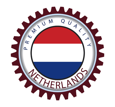 holland flag: Netherlands Seal, Holland Flag (Vector Art)