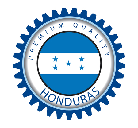 bandera honduras: Honduras Seal, Republic of Honduras Flag (Vector Art) Vectores