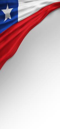 bandera chilena: 3D Bandera de Chile, Bandera de Chile (Render Arte)