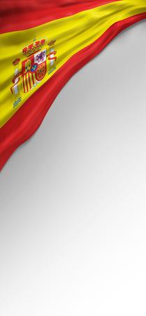 spanish flag: Flag Spanish Colors, Spain Flag (3D Render)