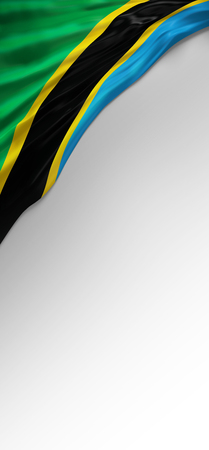 jamaican: Flag Jamaican Colors, Jamaica Flag (3D Render) Stock Photo
