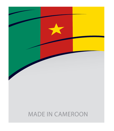 cameroon: Cameroon Color, Cameroon Flag (Vector Art) Illustration