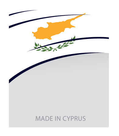 cyprus: Cyprus Color, Cypriot Flag (Vector Art)