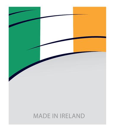 irish flag: Ireland Color, Irish Flag (Vector Art)